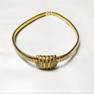 LANVIN Vintage Art Deco Choker Necklace